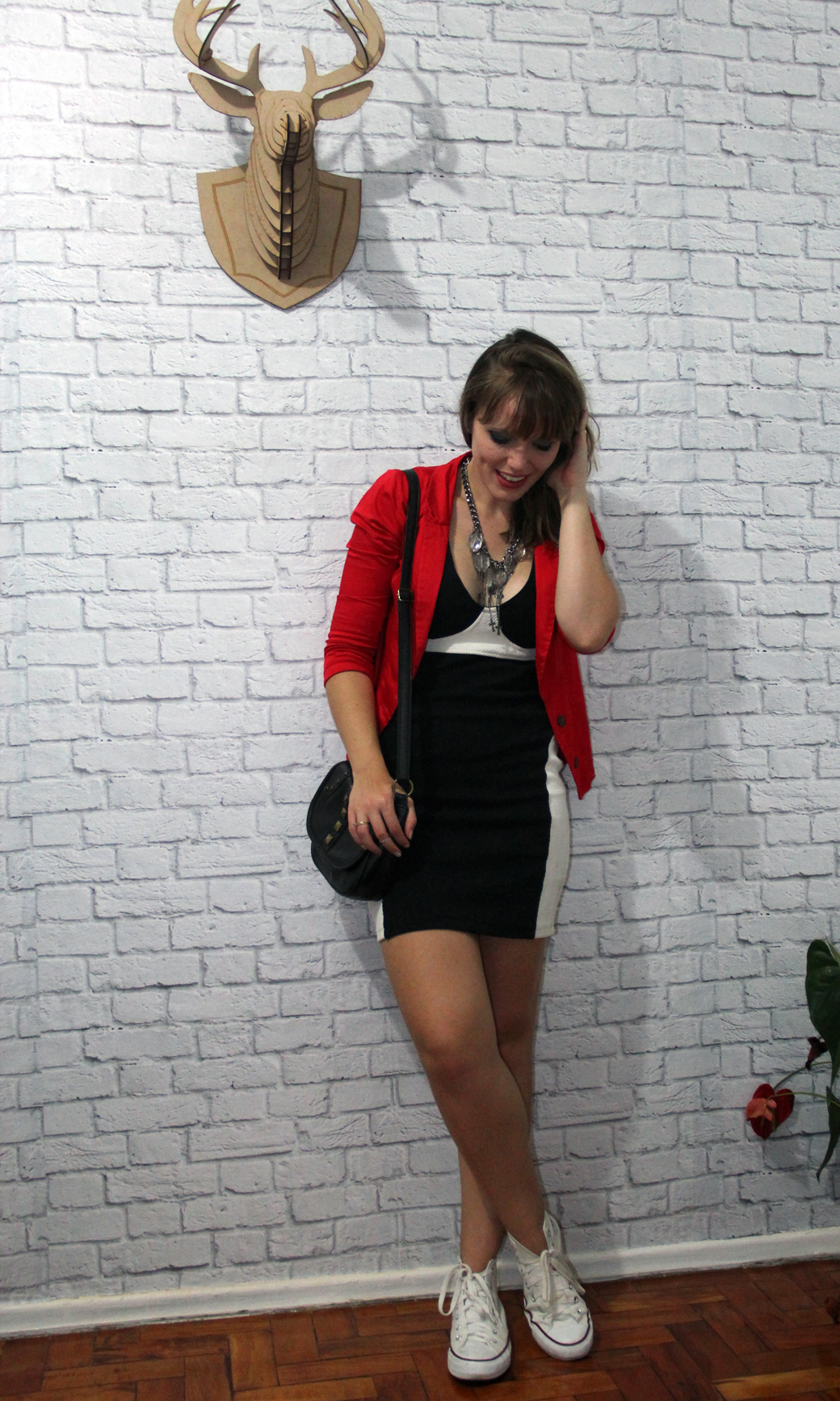 Look Vestido e All Star - 1