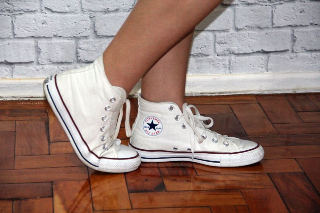 Look Vestido e All Star - 3