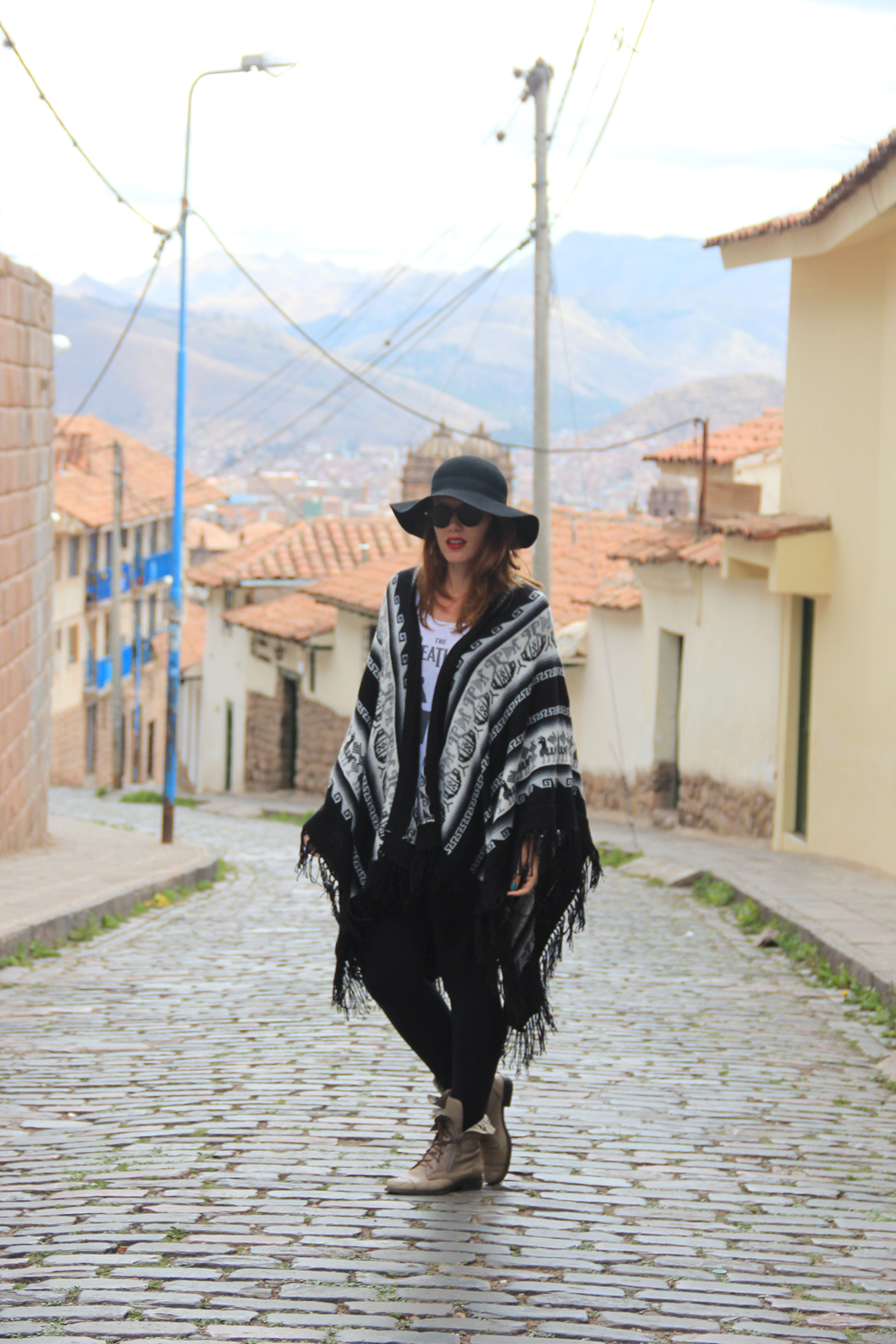 Look poncho 3